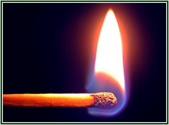 A Burning Match Anticipates com mold