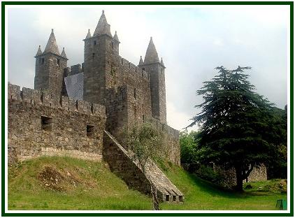 O castelo da Feira